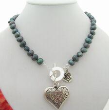 """18"""" 9mm Black Fancy Pearl Necklace"""