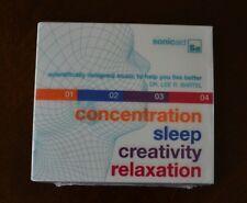 Concentration Sleep Creativity Relaxation / Dr Lee Bartel Music to Improve (4CD)
