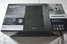 GRUNDIG CMS 3000 Kompaktanlage (Schwarz/Silber) NEU OVP