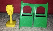 Little People Green Doors Yellow Parking Meter Main Street #2500 Replacement