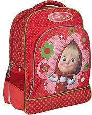 Masha and the Bear backpack with EVA-back to school light, bag Orthopedic e orso