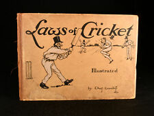 1907 Laws of Cricket Charles Crombie Scarce Illustrated Album
