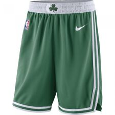 NIKE BOSTON CELTICS AWAY NBA ICON SWINGMAN BASKETBALL SHORTS GREEN WHITE XL 42
