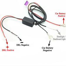 Car/Truck LED Daytime Running Lights Auto Controller Relay Harness Drl On/Off