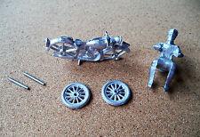 Dinky/Morestone  Motorbike and Rider  White Metal  Kit