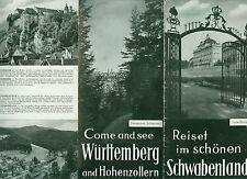 Reiset im schönen Schwabenland Württemberg-Hohenzollern 1950 Fotos dtsch engl.
