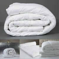 ALL SEASON HOTEL QUALITY QUILT / DUVET SINGLE DOUBLE KING SIZE 10.5 13.5 15 TOG