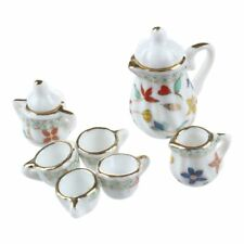 Kitchen Toys Tableware Porcelain Tea Cup Miniature Children Pretend Playset Gift