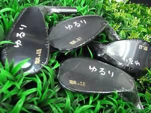 HEAD ONLY Yururi Keigekiku Golf Japan TARGET SPIN Forged Wedge 2 set 53, 57 Geki