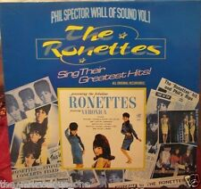 """THE RONETTES~ """"WALL OF SOUND Vol.1~""""EXCELLENT""""~UK-LP!!!"""