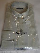 AQUASCUTUM striped cotton shirt blouse size L BNWT in packaging