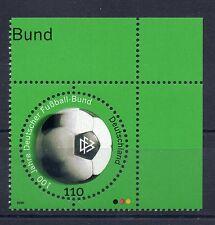 Bund Mi-Nr 2091  Ecke 2 (110) -100 J.Deutscher Fussballbund- ** Postfrisch 2000