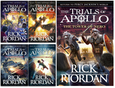NEW Rick Riordan Trials of Apollo 5 Paperback Books Collection Set Gift Set 2020