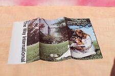 The Way International Ministry Brochure 1970's