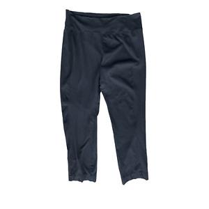 Blue Fish Simple Wide Waist Pants -2- Black Organic Cotton/Spandex