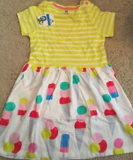 Child's Dress, adorable ice cream cones dress, for 5-6 Year Old Girl