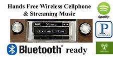 1971-1973 Cadillac AM FM Bluetooth & New Stereo Radio iPod USB Aux in, 300 watts