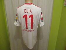"Hamburger SV Adidas Heim Trikot 2009/10 ""Fly Emirates"" + Nr.11 Elia Gr.M TOP"
