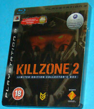 Killzone 2 Limited Edition Collector's Box Sony Playstation 3 PS3 PAL Steelbook