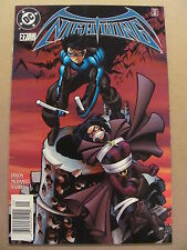 Nightwing #27 DC Comics 1996 Series Newsstand Edition 9.6 Near Mint+