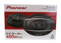 "Pioneer TSA6960 450W Max 90W RMS A-Series 6 x 9"" 4-Way Coaxial Speakers (Pair)"