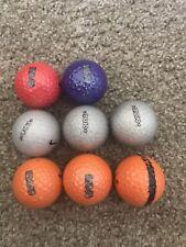 8 Aaa-Aaaa Mint Nike Karma Mojo Rare Golf Balls Silver Orange Red & Purple