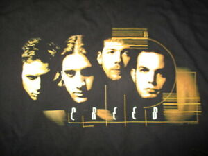 "1998 CREED ""My Own Prison"" Concert Tour (XL) T-Shirt Scott Stapp Mark Tremonti"