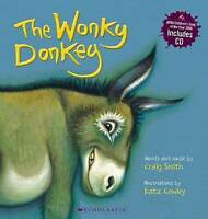 The Wonky Donkey by Craig Smith paperback book with bonus CD Free Post Brand NEW