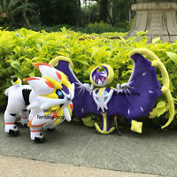 2X Alola Region Solgaleo & Lunala Plush Toys Stuffed Toy Cartoon Soft Doll