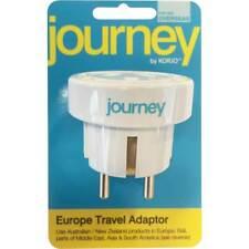 Genuine Korjo Journey Travel Adaptor for Europe EU Adaptor Super Fast Shipping