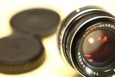 Voigtländer / Color - Ultron / 50mm / 1.8 / gebraucht / Canon EF-Anschluss !!
