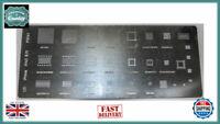 Apple iPad iPhone NAND Flash Memory Solder Reball Stencil Template