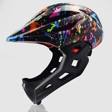 Kids Bicycle Full Face Helmet MTB Bike Cycling Helmet Extreme Sports Helmet UK