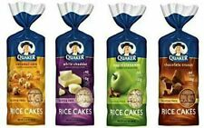 Quaker Rice Cakes Variety Bundle - Pack of 4 Flavors, Chocolate Crunch, Apple