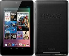 Nexus 7 (1st Gen) 16 GB Android Tablet, Wi-Fi, 7in - Black, W/Charger and Stylus