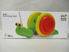 Pull-Along Snail by Plan Toys