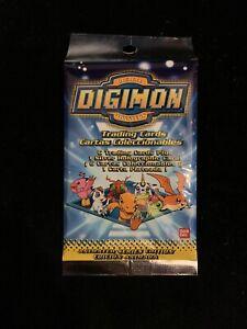DIGIMON SERIES 1 BOOSTER PACK - English 1999 CARD GAME - Bandai - Not Pokemon
