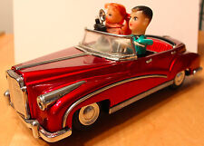 Original Photoing On Car with Box China Tin Battery Operated Toy