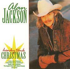 """ALAN JACKSON """"Honky Tonk Christmas"""" Country Music BMG 2003 VG Ships Free!"""