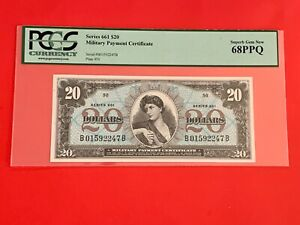 Mpc Series 661 $20 in (SUPER MONSTER 68PPQ !! Finest known and top pop 1/0 !!