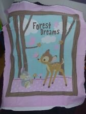 Bambi Blanket FREE NAME Curtains pillows Cases