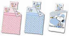 SNOOPY LINGE de lit pour Enfants bébé parure 100 x 140 cm