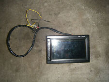 Vintage Pd-7.2 Color Lcd Monitor Sun Visor Headrest Car Tv Screen