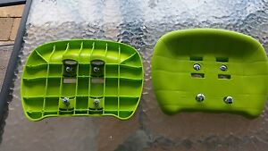 HILLS PLAYTIME SWING SET - GLIDE SWING SEATS - GREEN - NEW - WITH HARDWARE