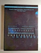 Unbreakable,Dvd, viewed once, 2 Dvd set, S Jackson and B Willis