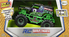 New Bright 1:24 Scale R/C Monster Jam Grave Digger Remote Control Truck Drive