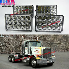4X LED Headlights Sealed Beam Headlamps For FREIGHTLINER FLD 120 112 FLD 4PCS AA