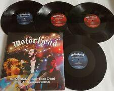 LP MOTÖRHEAD Better Motörhead Than Dead (Re) (4LP)  SPV 98171 4LP - STILL SEALED