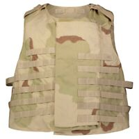Specialty Defense Systems Base Vest Only Carrier Size Large Desert Camo