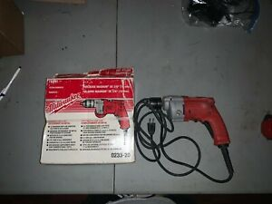milwaukee magnum drill 3/8 grip lock chuck